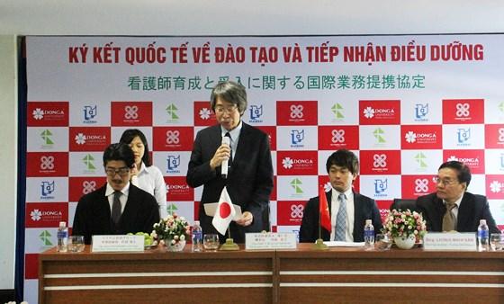Doanh nghiệp Nhật Bản và Đại học Đông Á gặp gỡ và trao đổi