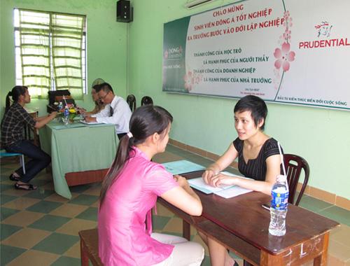 Công ty Prudenttital Việt Nam phỏng vấn sinh viên trường ĐH Đông Á